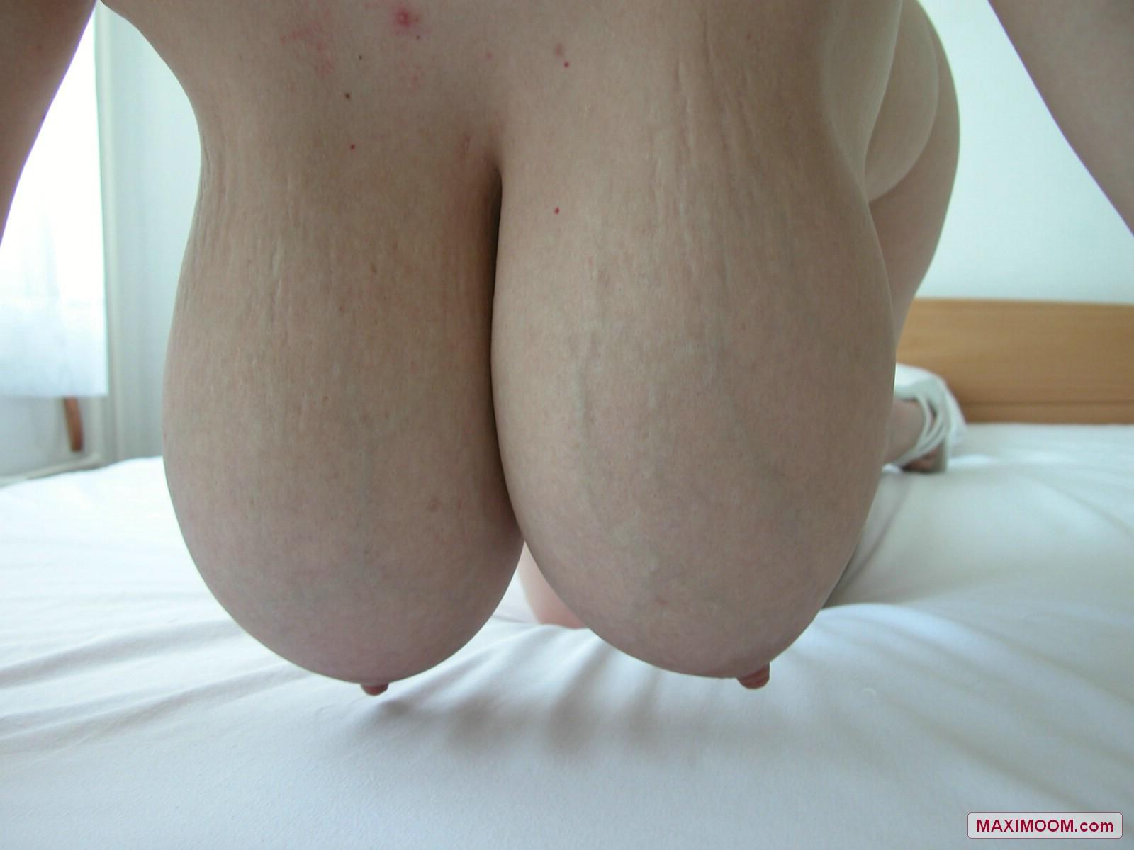 Sexy Maxi Moom In See Thru Nightie-4663